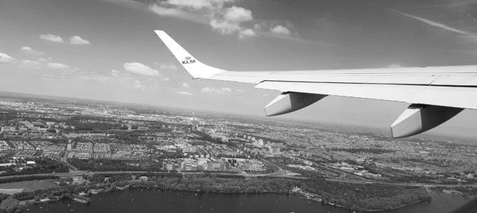 Wybór miejsca w samolocie.