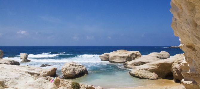 Dzikie plaże na Cyprze..