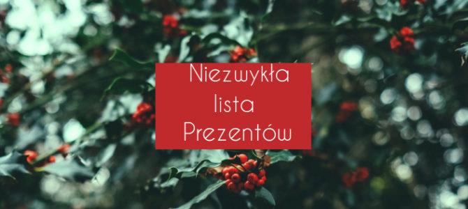 Niezwykła lista prezentów..